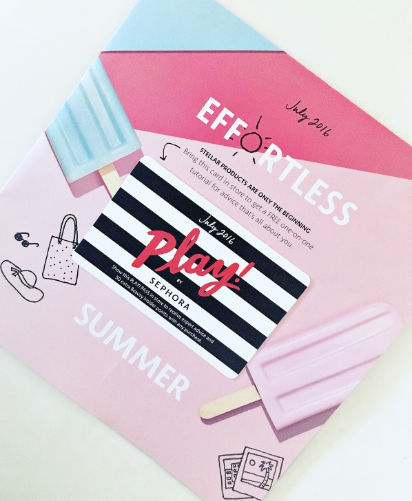 Sephora play Pass July