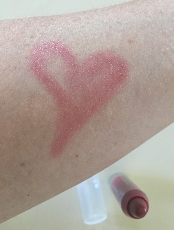 Strawberry Clinique Chubby Stick Swatch