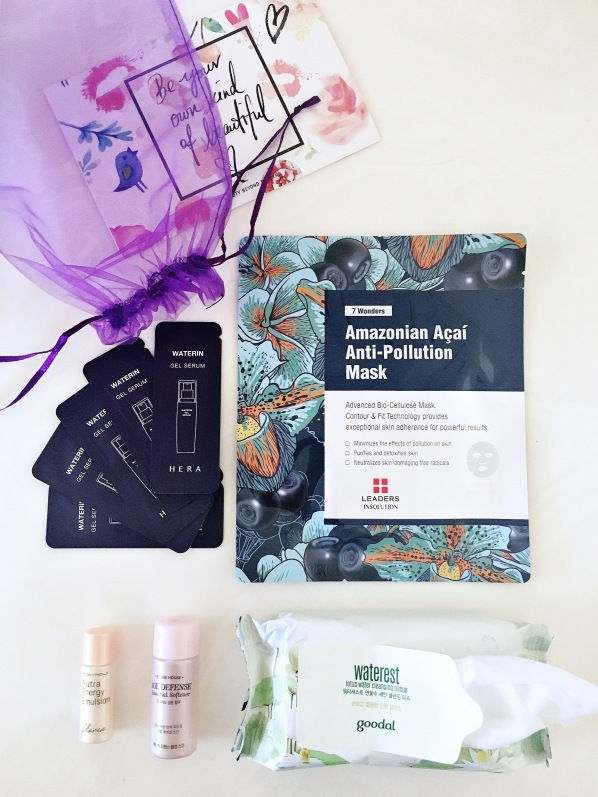 3b August bag Beauty Beyond Borders