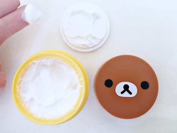 Apieu Aqua Nature Dew Drop Clouding Creme Rilakkuma Edition