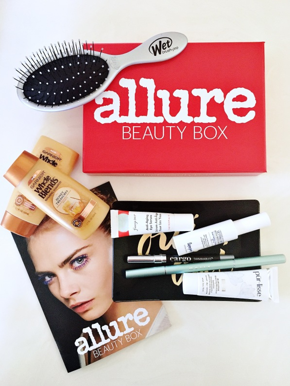 August 2016 Allure Beauty box