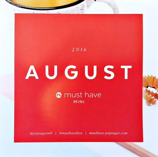 August Must have Mini