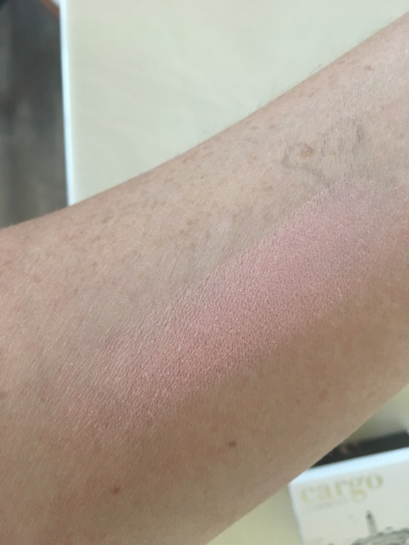 Cargo big easy blush swatch