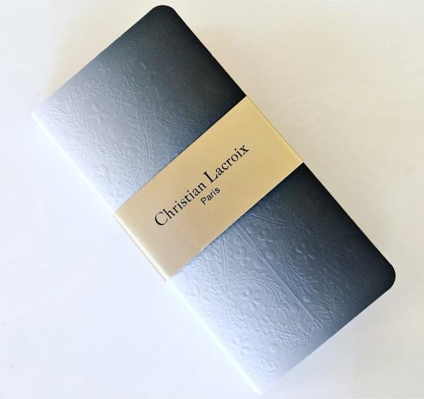 christian lacroix ombre sticky note folio