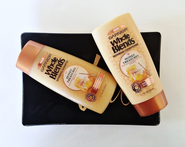 Garnier whole blends honey treasures duo