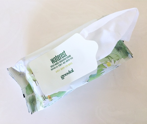 Goodal Waterest Cleansing tissue