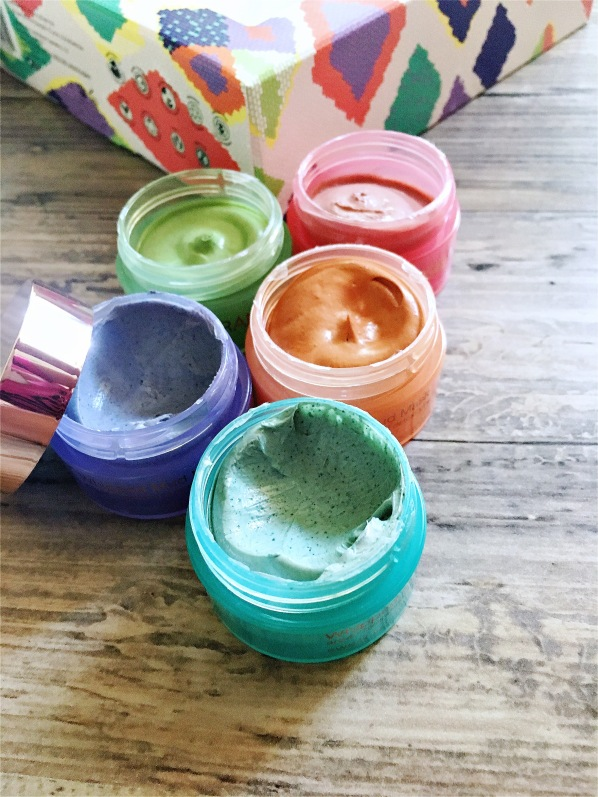 Josie Maran Whipped Argan Mud mask set of 5