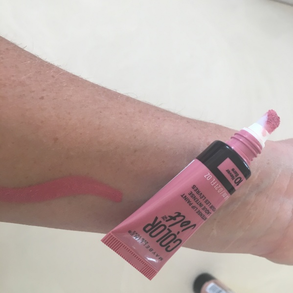 Maybelline Color Jold Swatch in never bare
