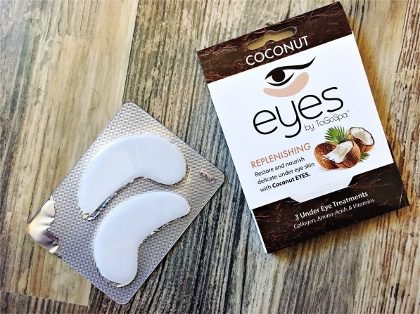 To go Spa coconut Eyes ice water eyes