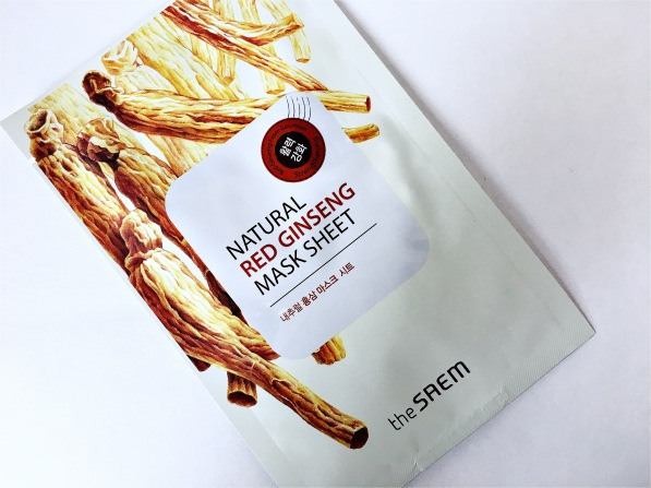 the-saem-ginseng-sheet-mask