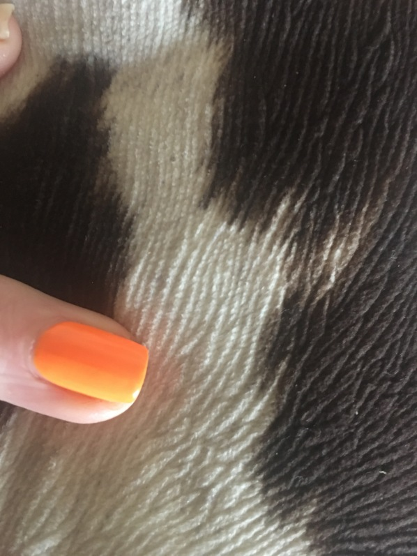 Floss Gloss Neon Orange swatch