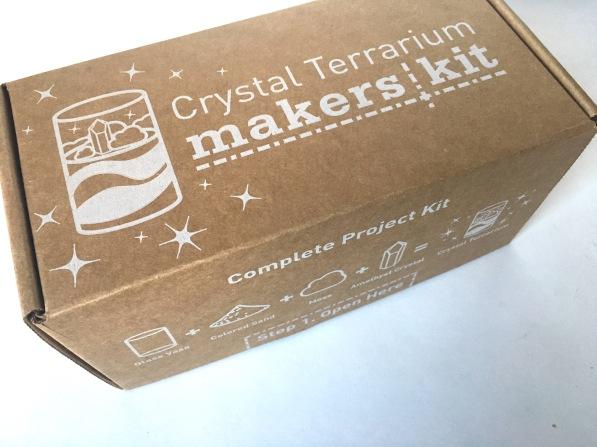Crystal Terrarium Makers Kit