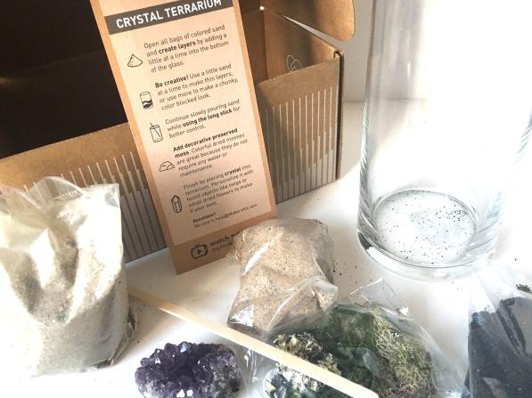 Makers Kit Crystal Terrarium kit
