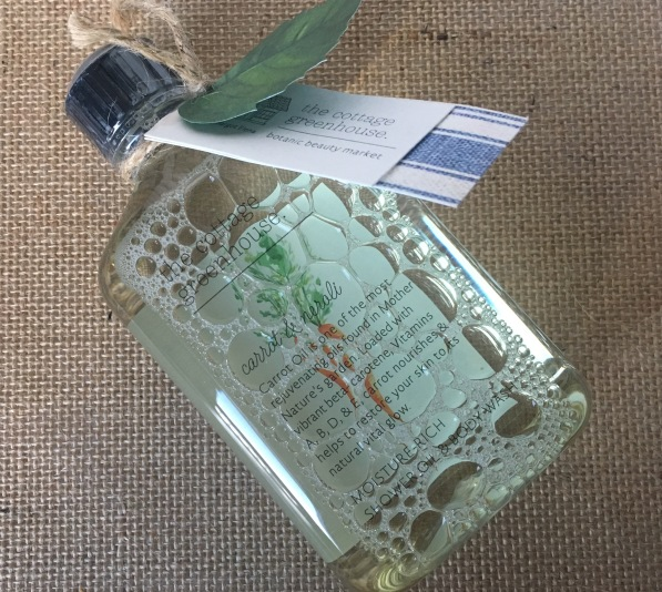 The Cottage Green House Carrot and Neroli Body Wash